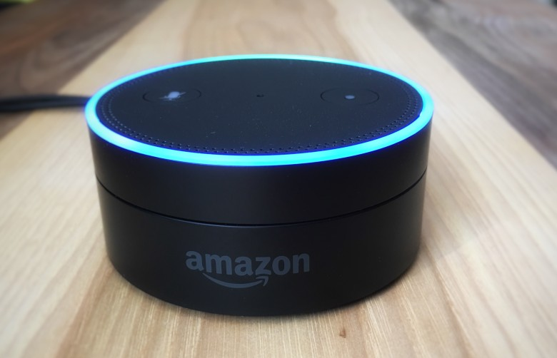 Connect the Amazon Echo Dot to your existing speaker system, and you bingo! -- your speakers just got smarts.