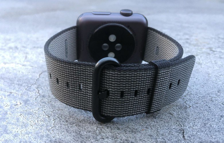 The woven-nylon Apple Watch band is a winner.