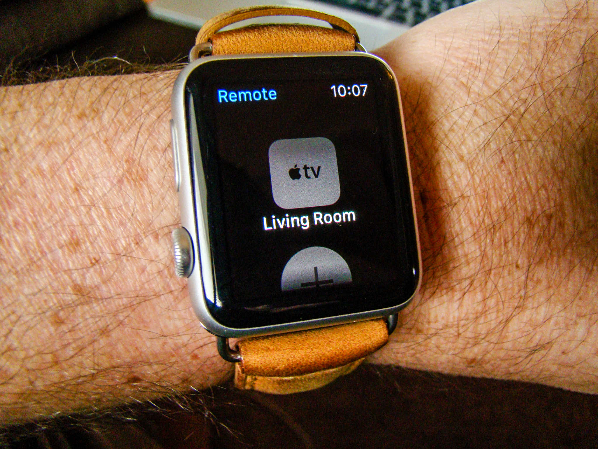 Control your Apple TV from your Apple Watch.