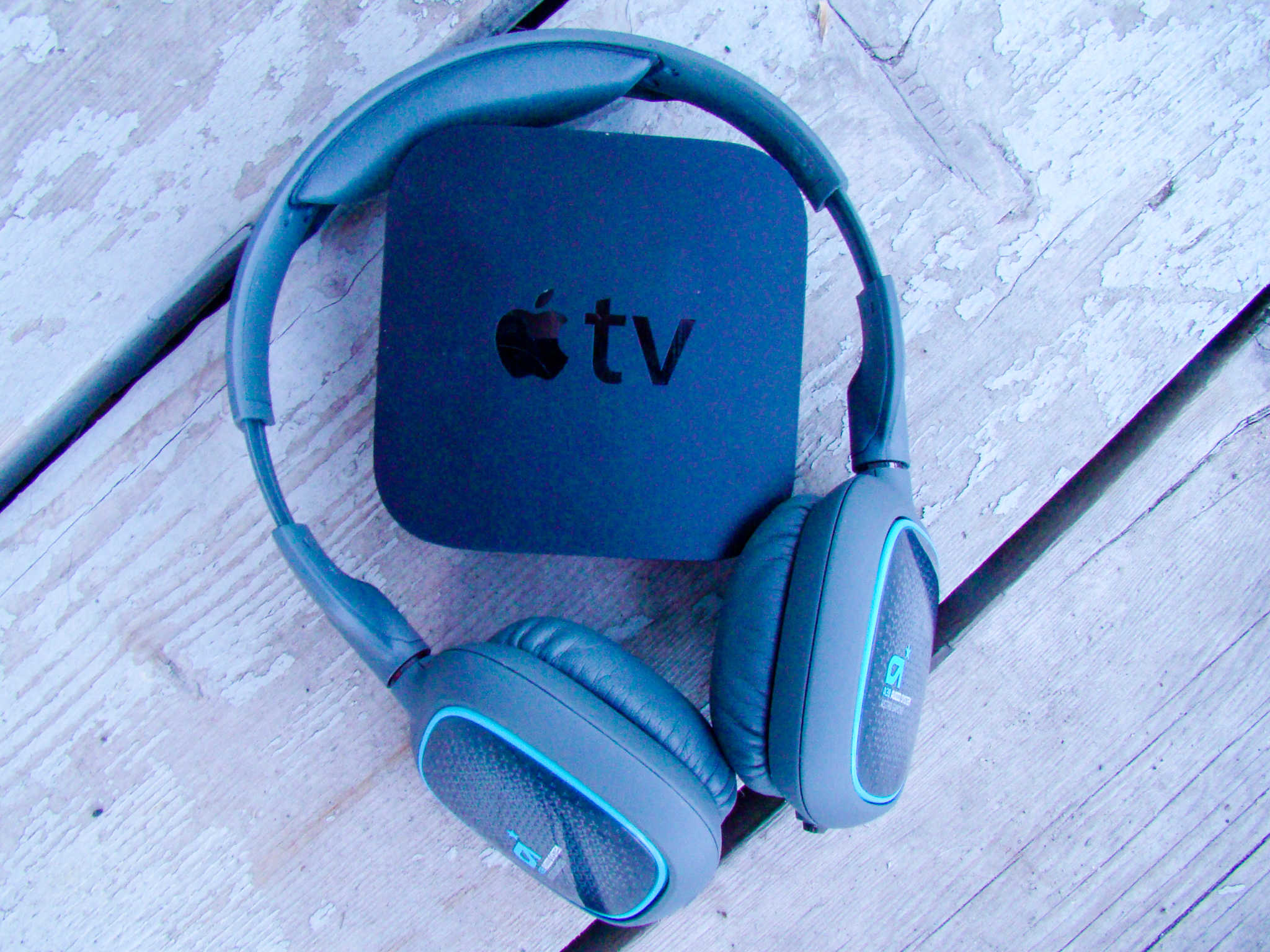 Use Bluetooth headphones to watch Apple TV quietly.