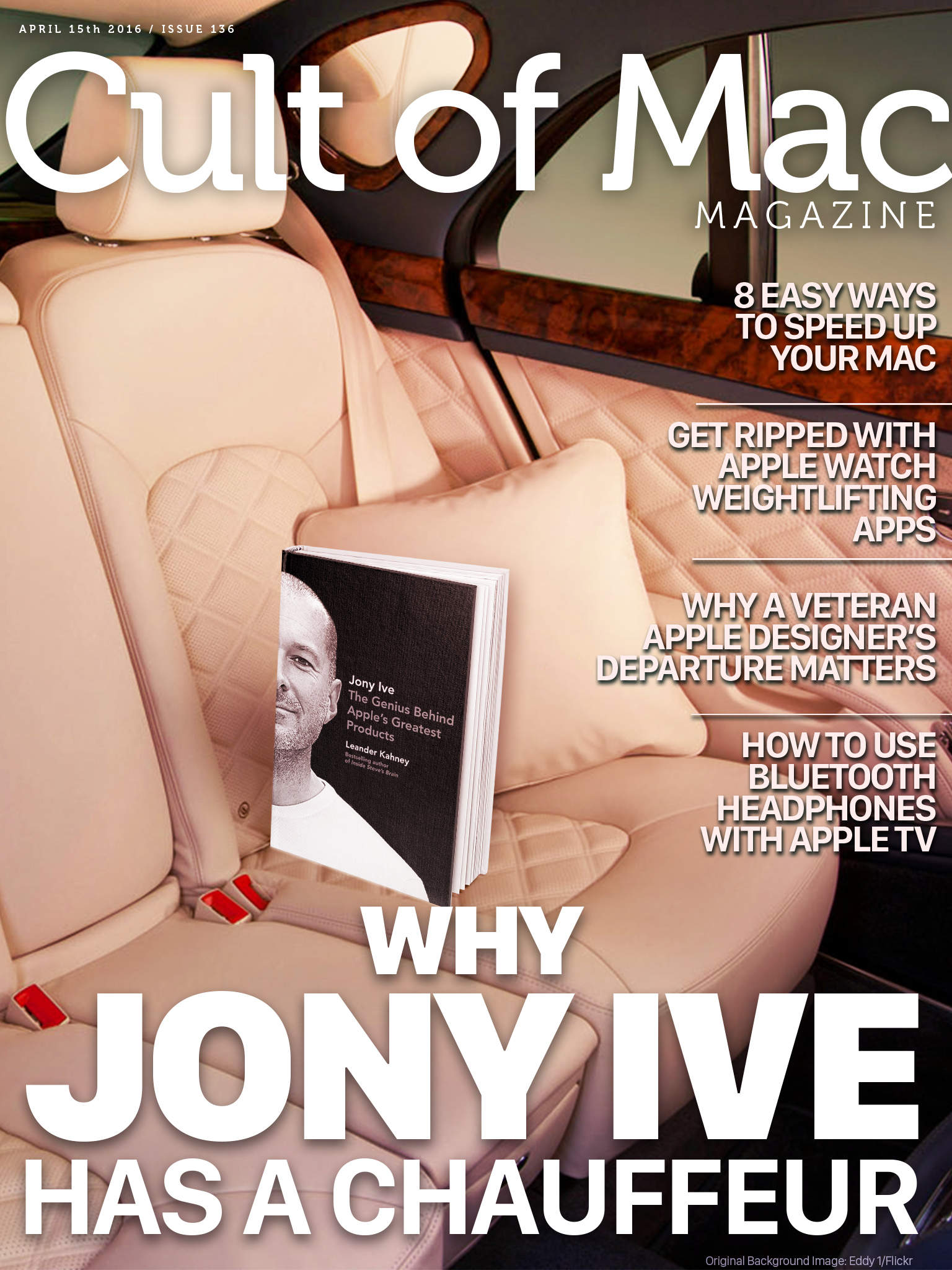 Why does Jony Ive ride around in a Bentley? Cult of Mac will tell you.