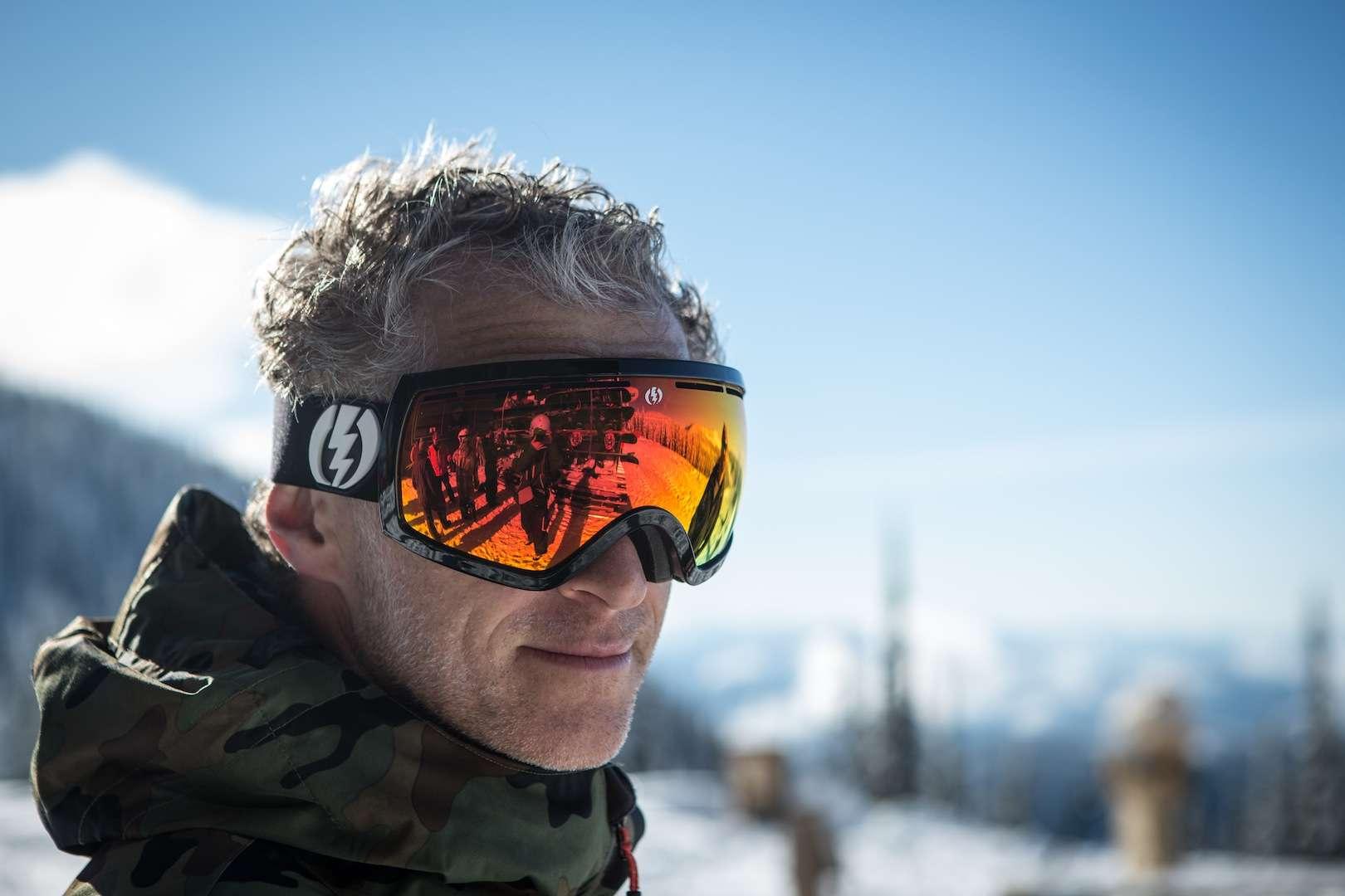 Danny Coster ski googles