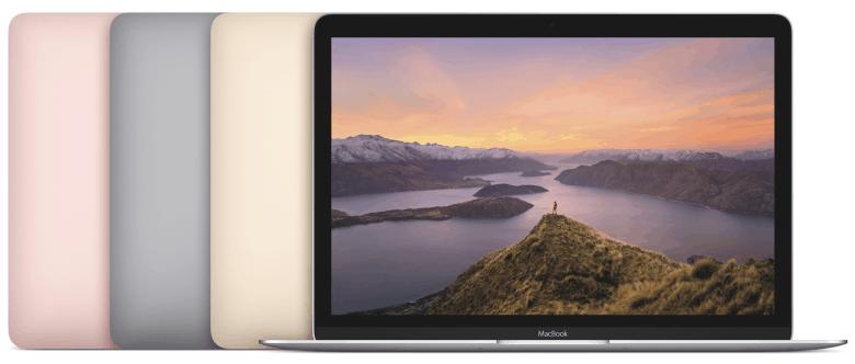 MacBook lineup