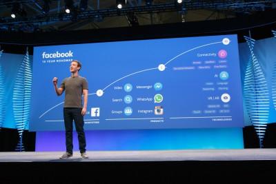 Mark Zuckerberg Facebook F8 2016