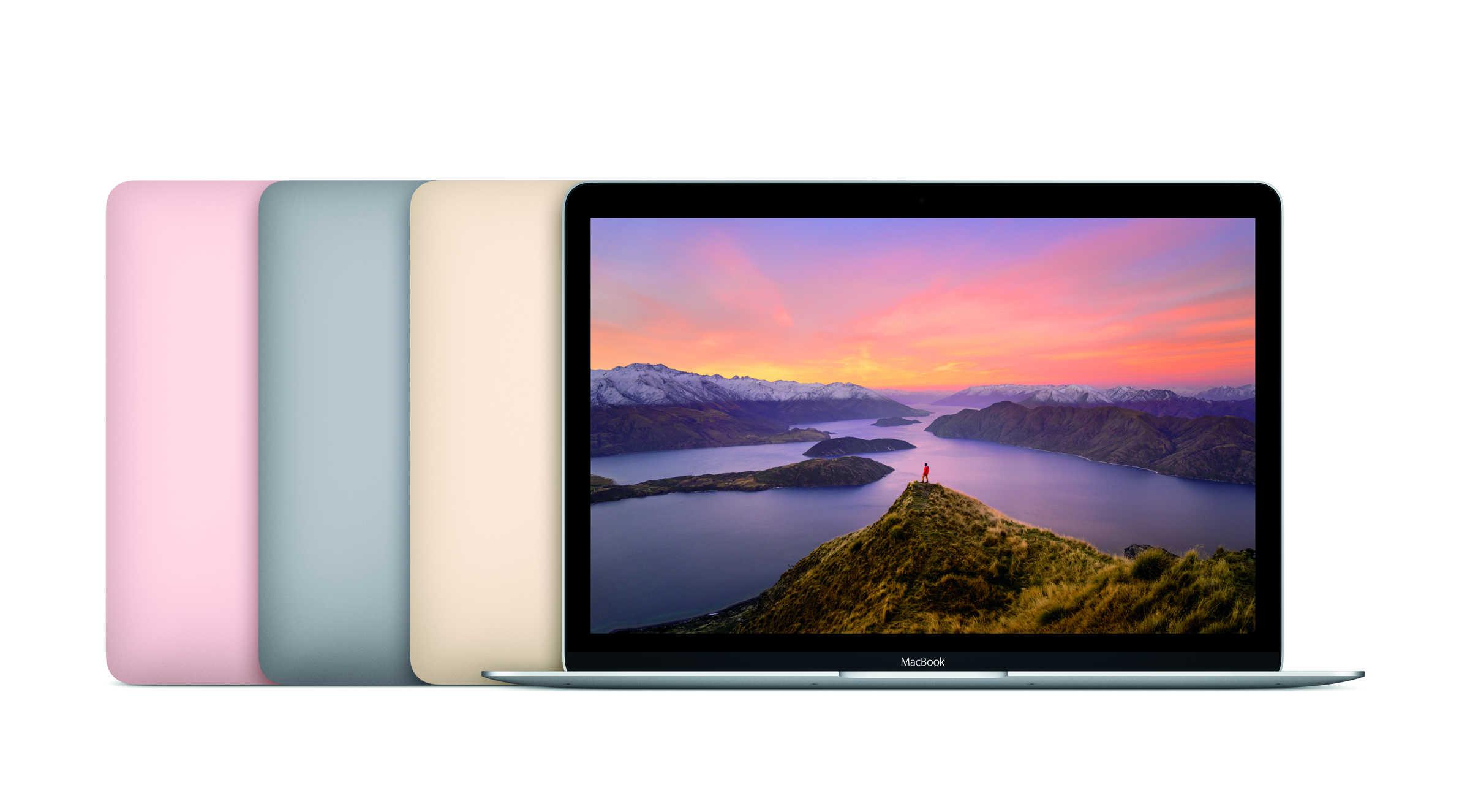 New MacBook line Spring 2016
