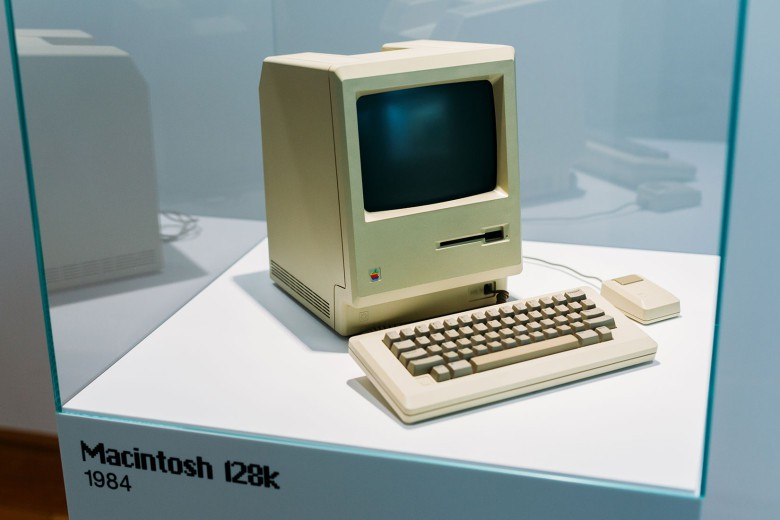 A 128K Macintosh from 1984.