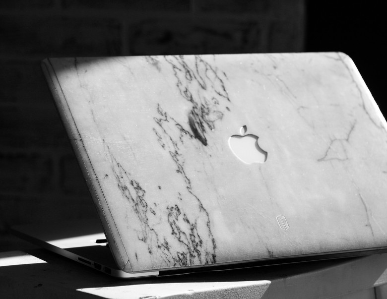 sports shoes 6c26a ad587 Marble MacBook case makes laptop a stone-cold knockout