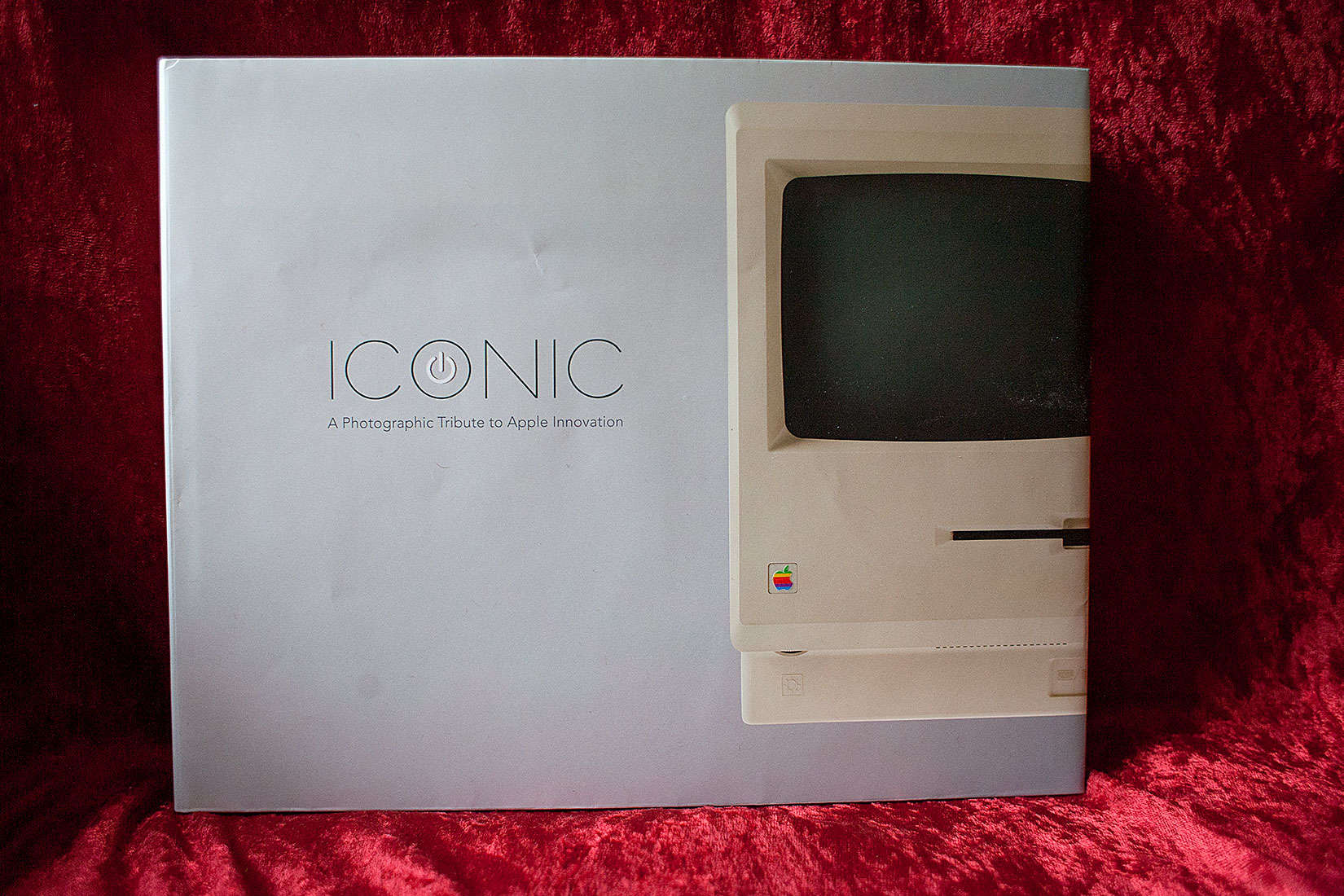 Jonathan Zufi's book ICONIC has been popular with Apple fans.