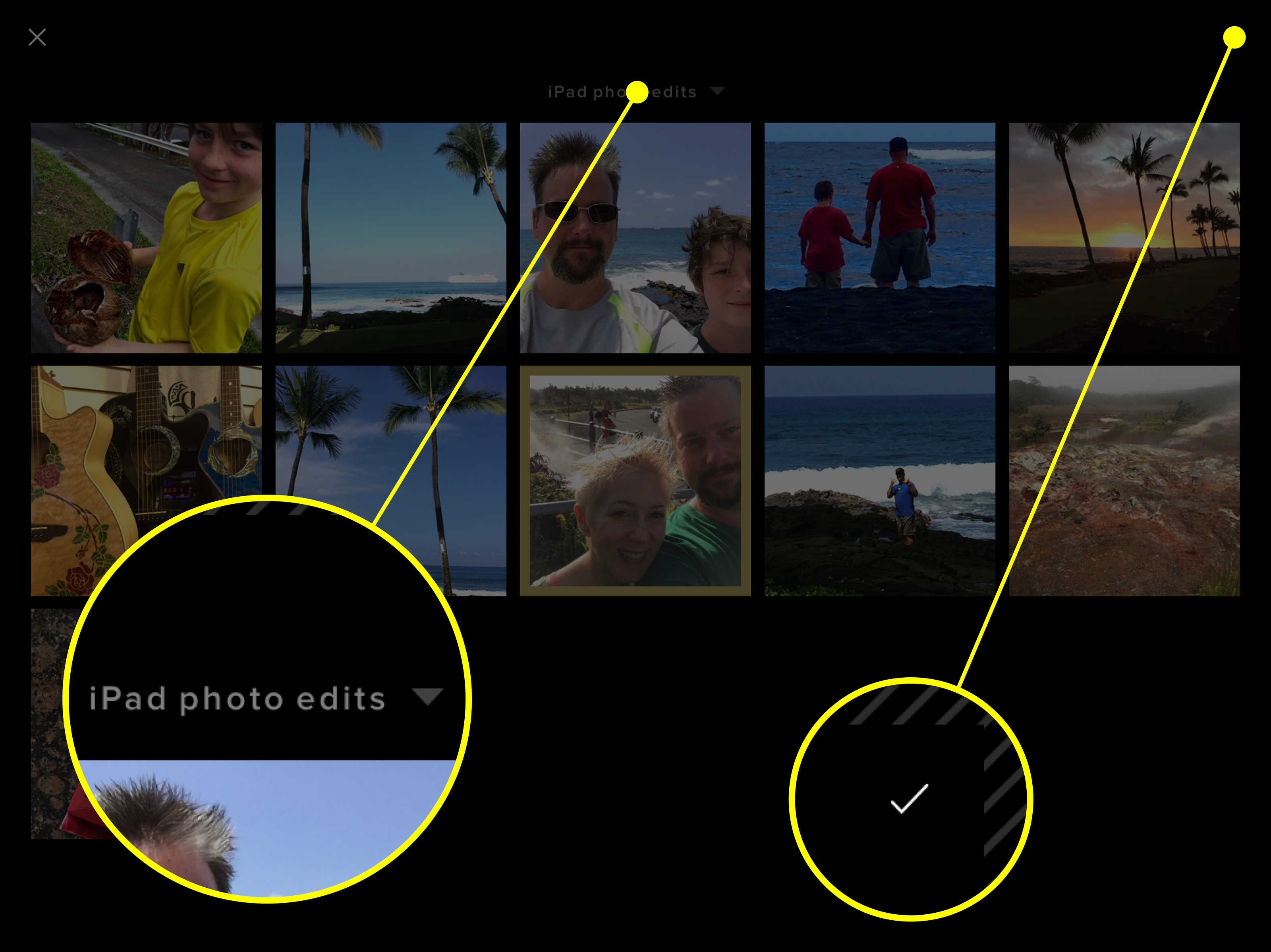 Tap On The All Photos Menu At The Top Of The Screen To Choose A Specific  Album Finally, Tap On The Photo You Want To Import To Vsco, Then Tap The  Checkmark