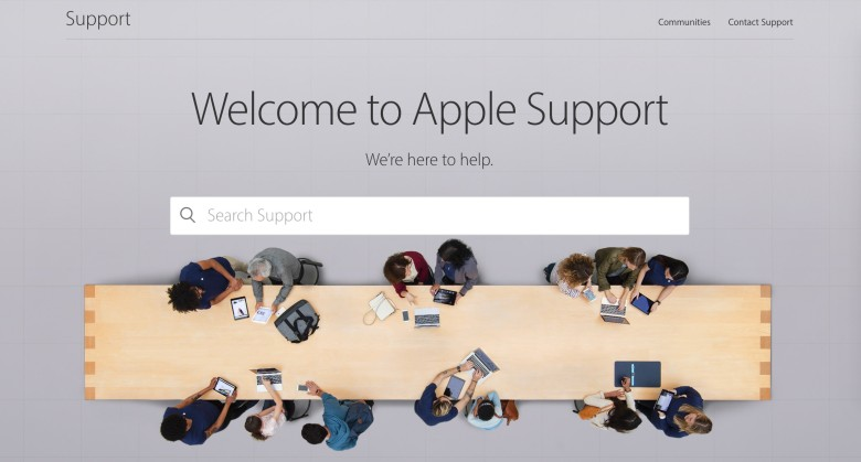 Get help faster and more easily with the new Apple Support site.