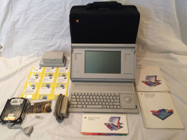 This is a prototype of an Apple Macintosh Portable M5120 on eBay for $2,749.