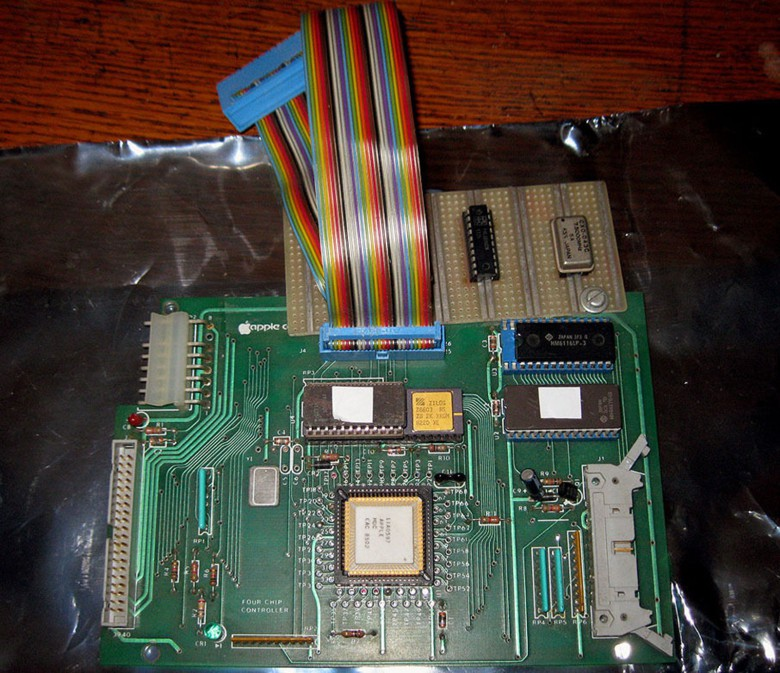 This is prototype of a controller board for an Apple Lisa 2 - yours for $499.99.