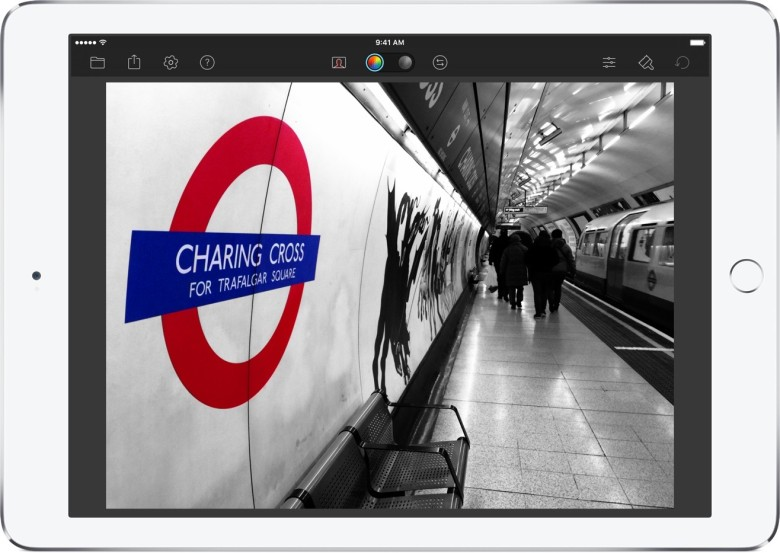 Color Splash Lets You Selectively Your Photos For A Unique Look And Feel Apple