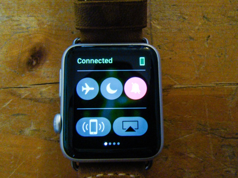 Use your Apple Watch to find your iPhone, regardless of ambient illumination.