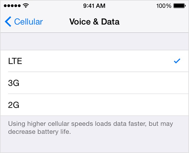 How (and why) to disable LTE on your iPhone | Cult of Mac