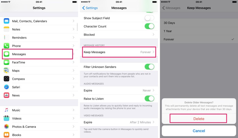 How to limit how many messages are stored on your iPhone or iPad.
