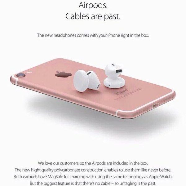 apple headphones wireless. Out The Numerous Spelling And Grammatical Errors If You\u0027re In Any Doubt!) Isn\u0027t First Glimpse We\u0027ve Had Of What Apple\u0027s Non-3.5mm Jack EarPods May Apple Headphones Wireless