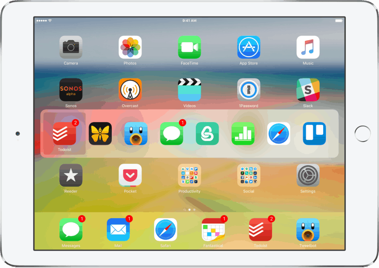 Access the App Switcher, just like on your Mac, but using Command + Tab.