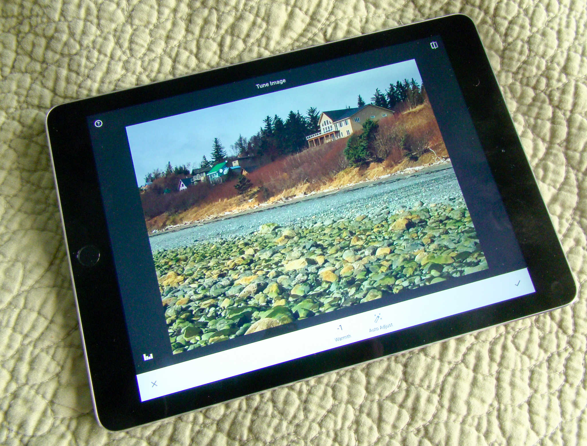Snapseed lets you tune up your photos with ease.