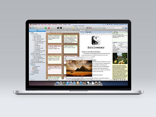 Keep your writing process in check with this fast-escaping deal on Scrivener 2.