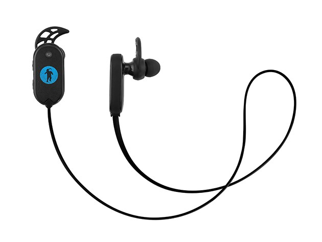 These waterproof earbuds can go swimming with you and still sound great.
