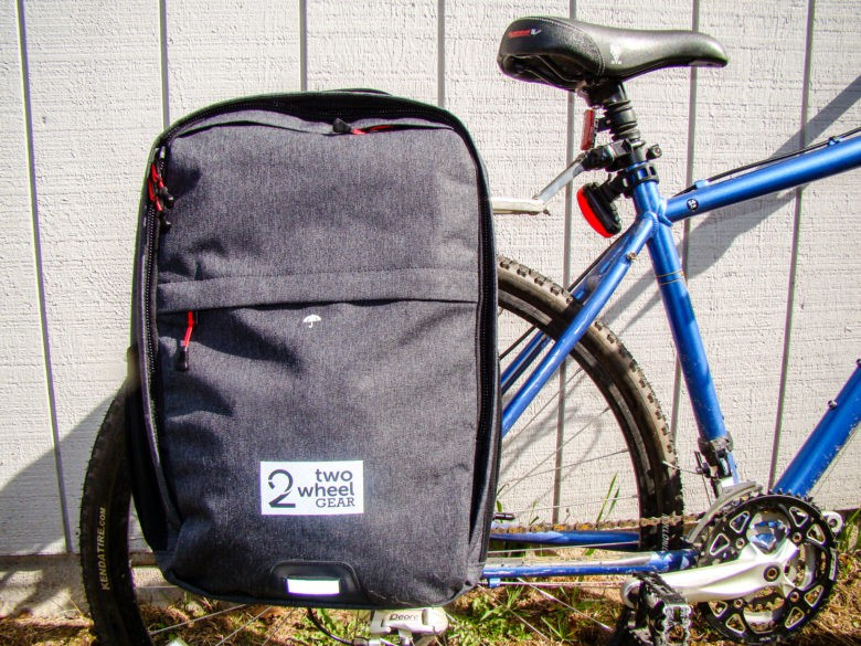 Review: Backpack built for bikes lets you carry on two wheels