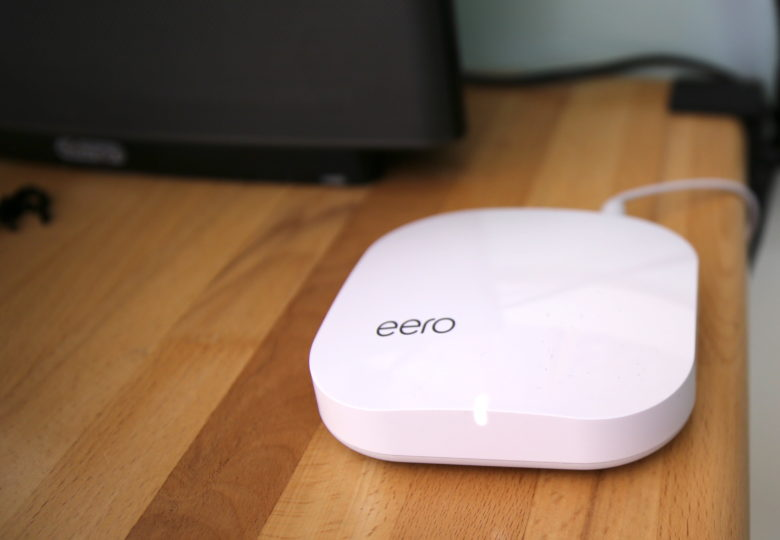 Eero monitors things like network throughput and interference, adjusting itself automatically.