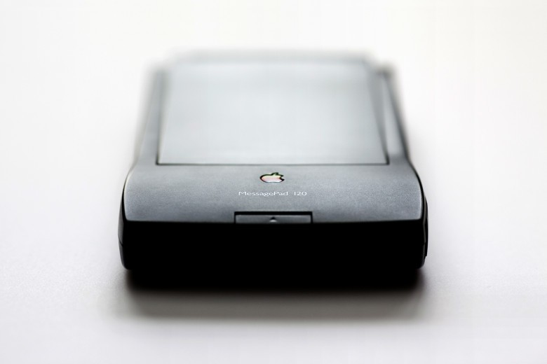 Mobile computing in the 19990s, the Newton MessagePad.