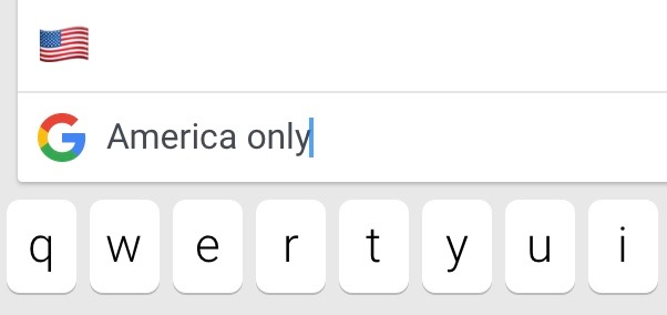 Don't bother looking for Gboard outside the U.S.