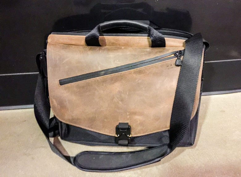 Waterfield's new Cargo Laptop Bag has a ton of space without sacrificing looks.