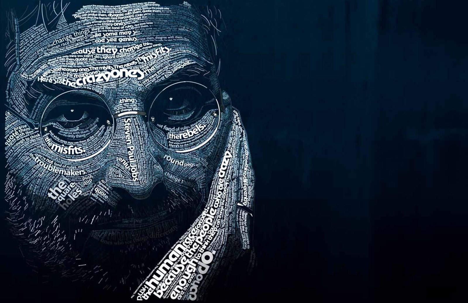 Steve Jobs-inspired art