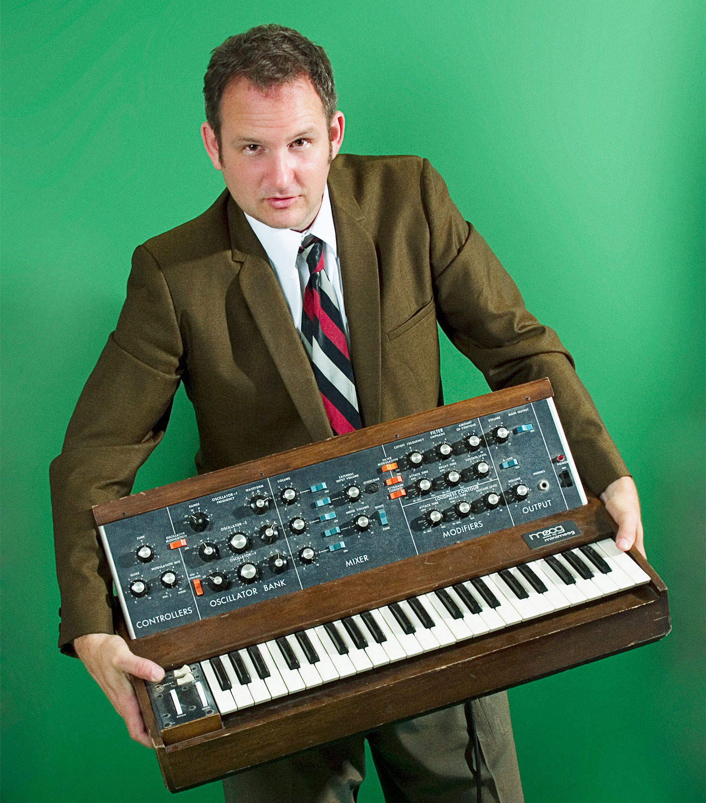 When the Moog strikes, Parry Gripp writes funny songs about anything.