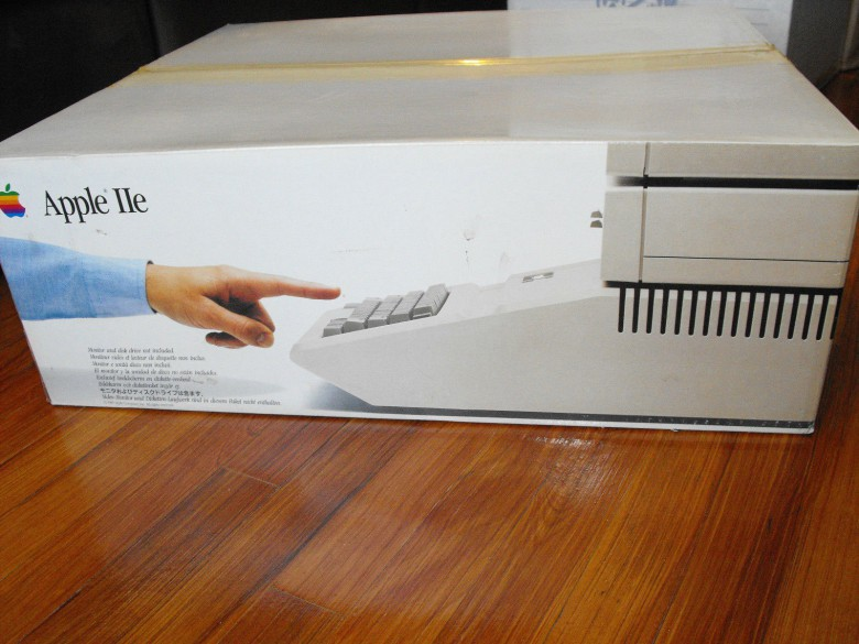 An Apple II that is in its box and has never seen the light of day. It was listed for $7999.99 but was removed Monday.