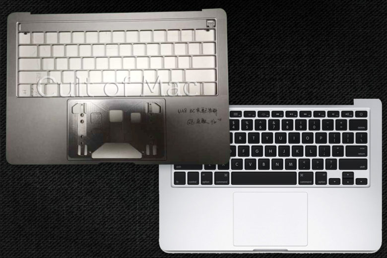The new MacBook Pro vs the Old.
