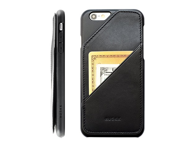 With timeless design for the modern age, this iPhone wallet stores up to 8 cards and your cash while staying slim.