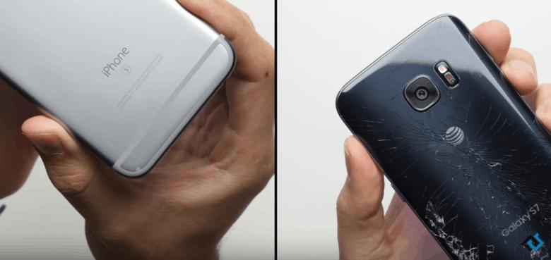 iPhone-6s-Galaxy-S7-drop-test