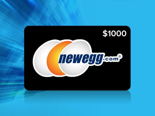 Newegg's $1,000 gift card giveaway is your last chance to build the machine of your dreams.