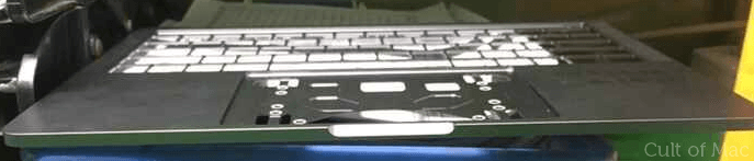 Is this the front of the 2016 MacBook Pro?