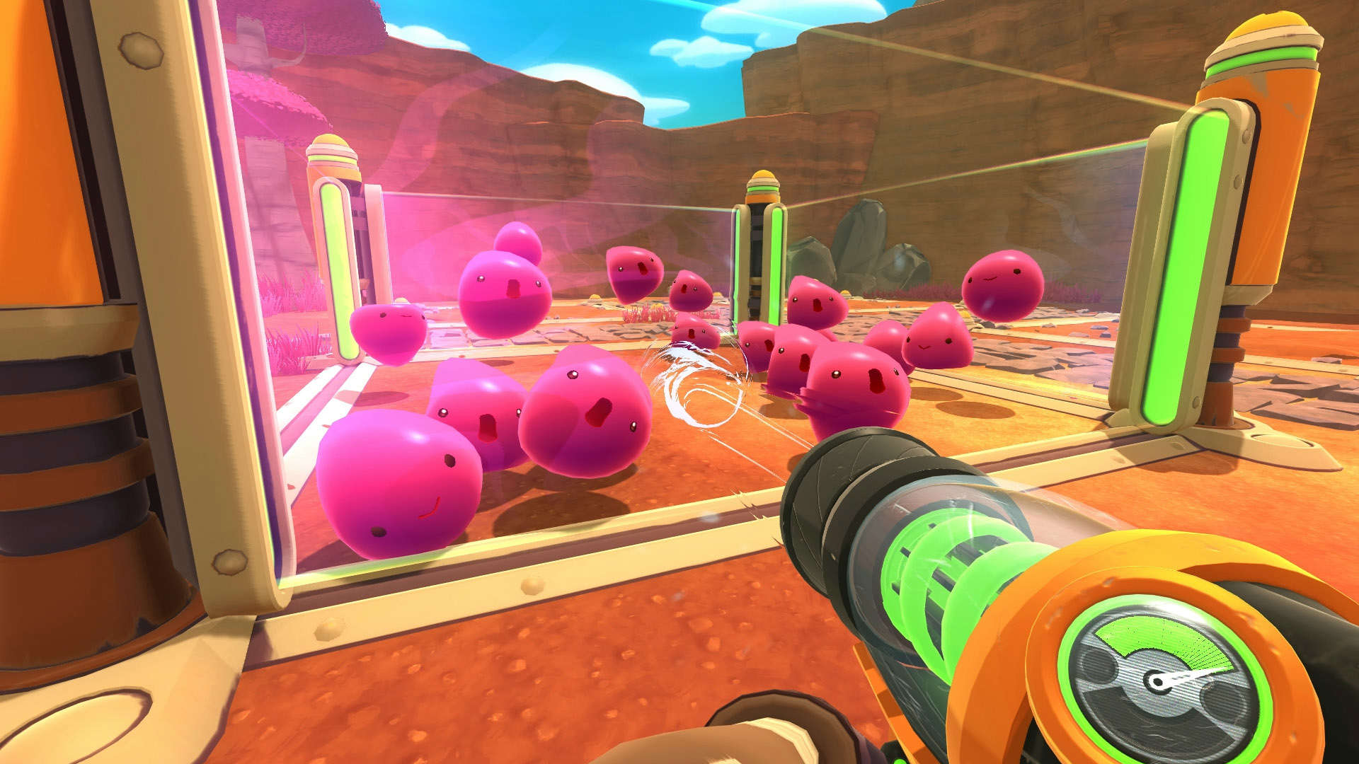 Glowing graphics and quirky fun will make Slime Rancher a new favorite.