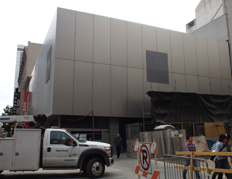 Apple's original flagship store in San Francisco is being quickly decommissioned.