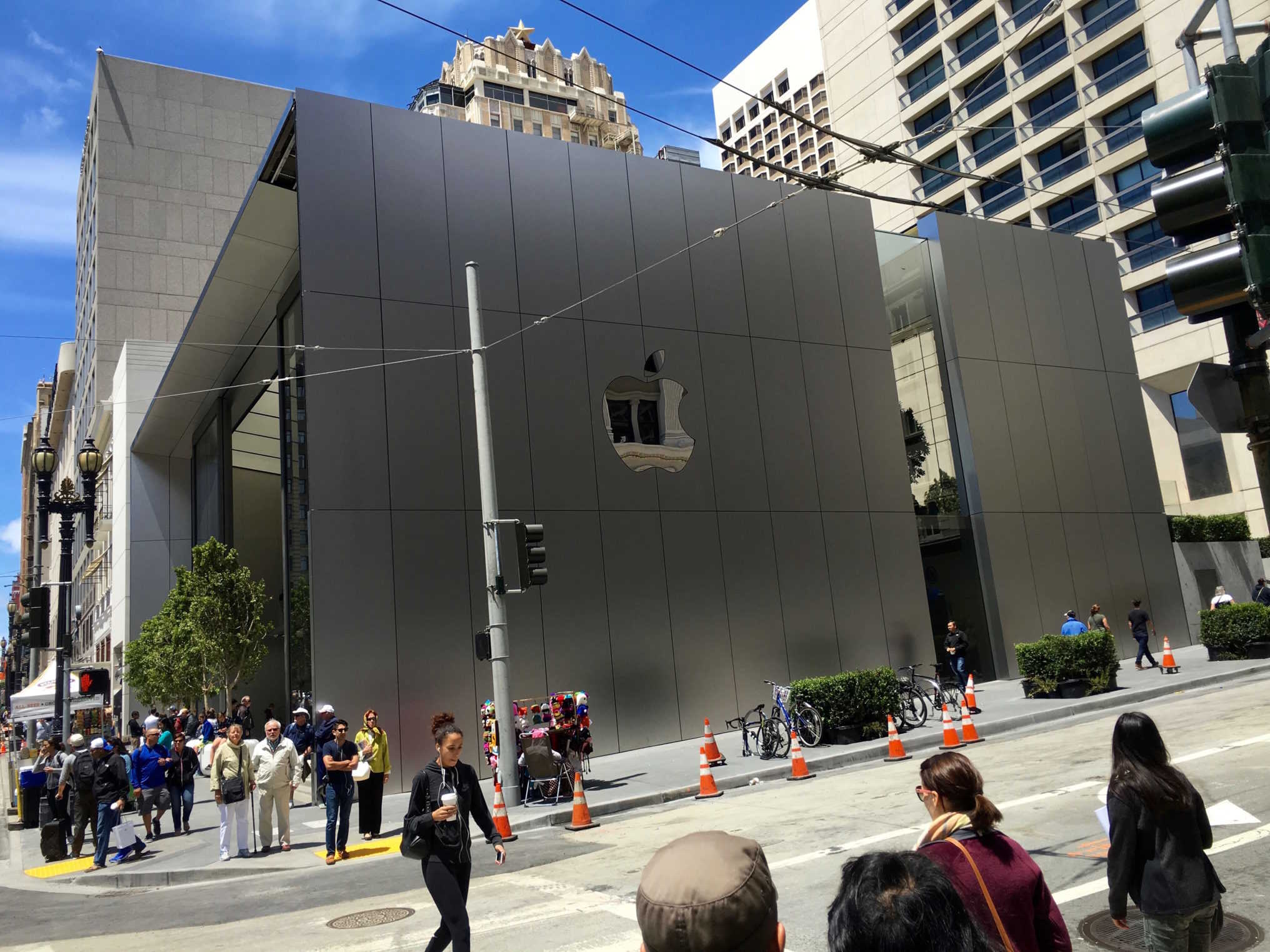 Check Out The Crazy Detail At Apple S New San Francisco Store