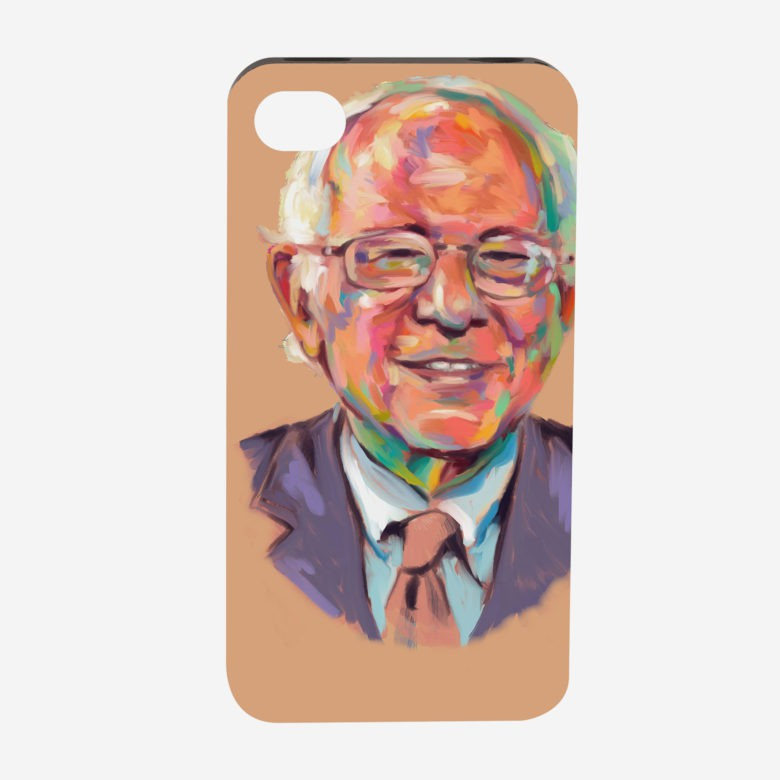 CafePress shoppers like Bernie Sanders-related iPhone cases over Hillary Clinton and Donald Trump.