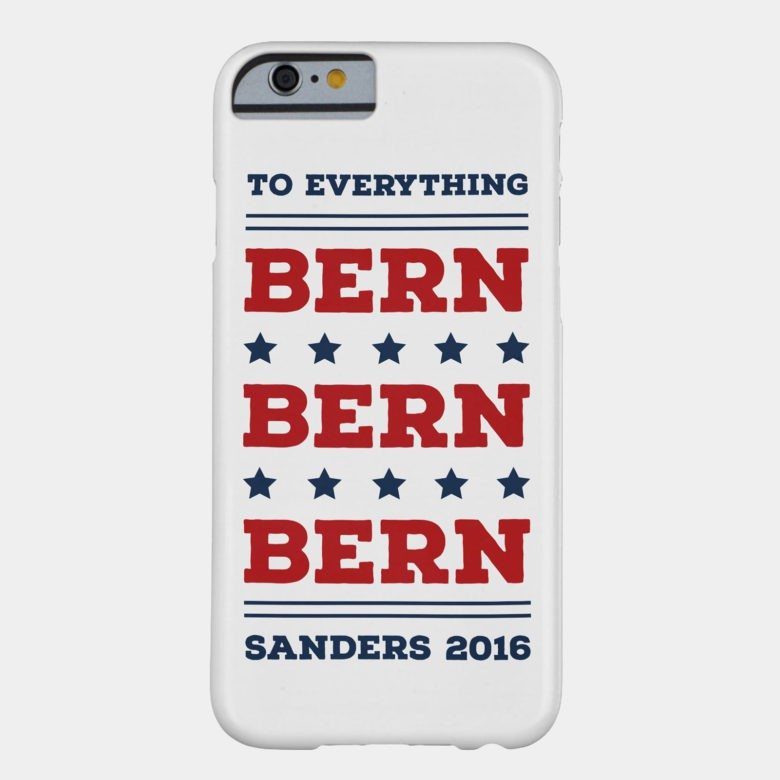 Careful or you might Bern your ear.