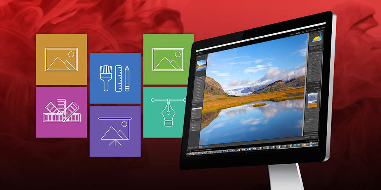 Get a year of access to Adobe's photo products, and comprehensive lessons in using them.