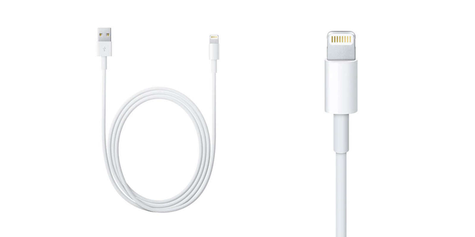 These two, 2-meter long Lightning cables are going for less than a single, standard one.