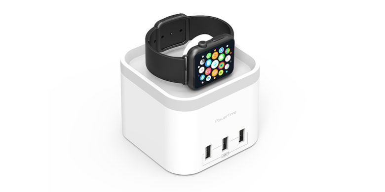 This sleek hub wirelessly recharges your Apple Watch, along with up to 3 USB-connected devices.