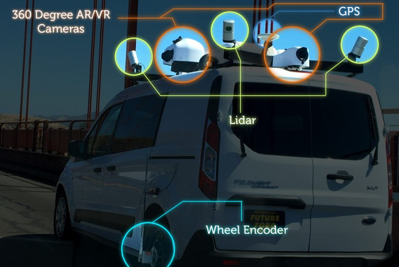 Mystery Vans Likely Making 3 D Road Maps For Apple Car