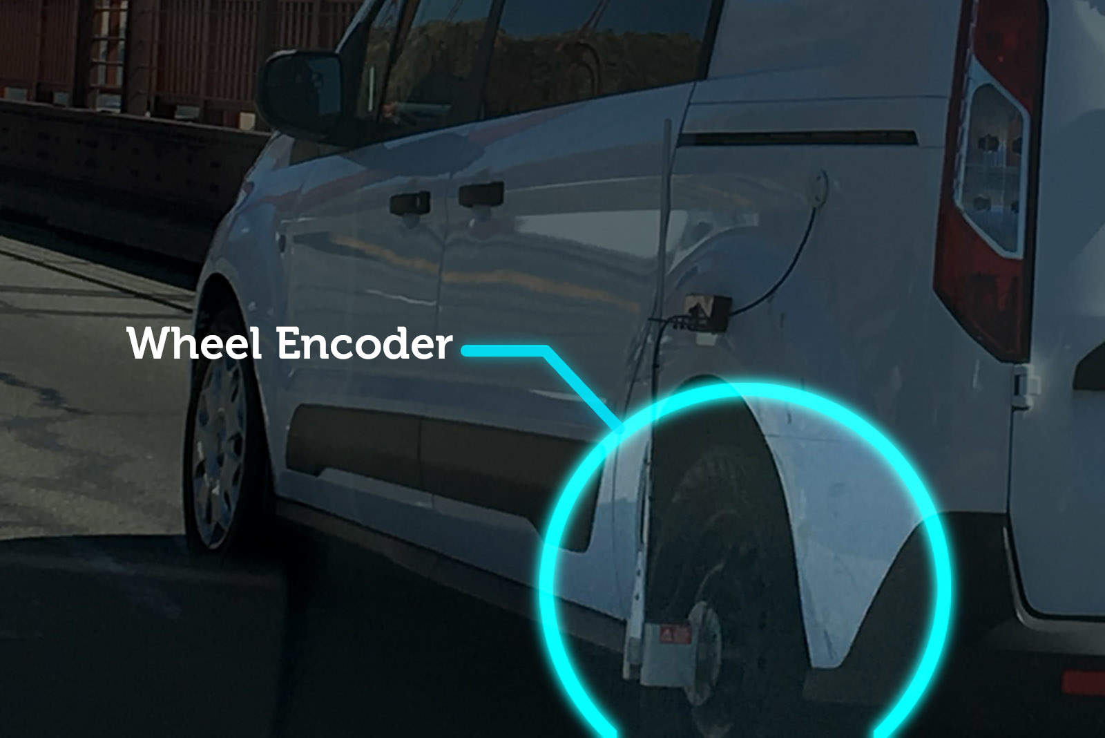 "The wheel encoder and GPS keep track of the vehicle's movements and provide ""ground truth"" to the maps being generated by other sensors."