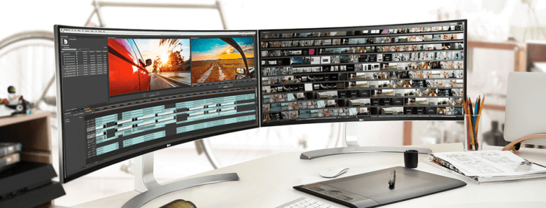 LG's new line of UltraWide monitors allow for shooting and editing in aspect ratios usually reserved for the pros.