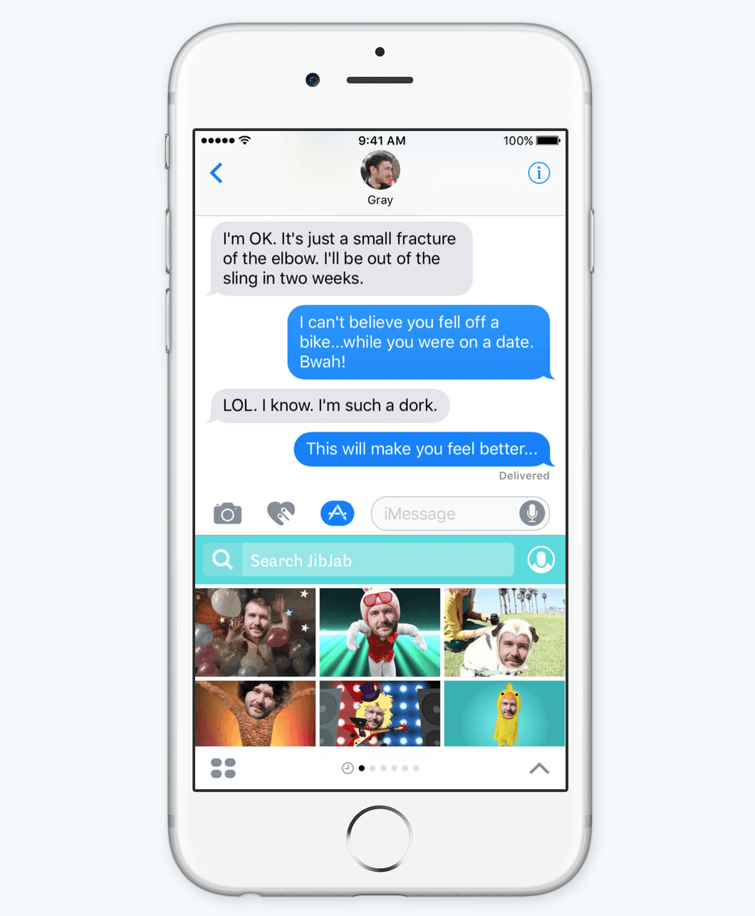 iMessage Apps. Do more in Messages.